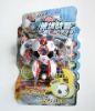 New design stuffed football toy transform robot with sound and light RB81402032-1