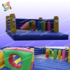 Newest and cheap inflatable obstacle bouncer