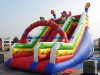 Newly design dry inflatable slide