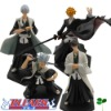Noriaki 4x Bleach Hitsugaya Aizen Gin Ichigo Figure Set