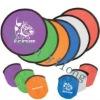 Nylon mesh colorful frisbee fan