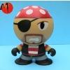 OEM custom plastic cartoon toy-cute pirate figure
