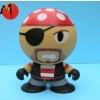 OEM custom plastic cartoon toy-pirate figure