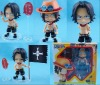 One Piece Ace cute version PVC action figure (high imatation product)