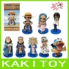 One Piece palstic toy