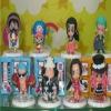 One Piece pvc action figure set(8 pieces)
