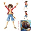 One piece luffy 2 years later verson PVC action figure