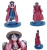 One piece pvc cartoon figure