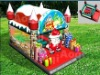 Outdoor Inflatable Christmas House - bouncy castle