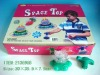 PLASTIC SPINNING  TOP TOYS
