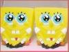 PVC sponge bob toy/plastic protmotion sponge bob/plastic spongebob