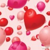 Party Destination Heart Shaped Latex Balloon