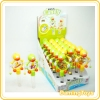 Penguin shape drum candy toy