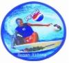 Pepsi promotional and foldable Nylon frisbee fan