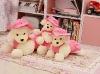 Pink Handmade Fairy Plush Doll Dog