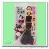 Plastic 11.5 inch fashion dolls for girl