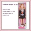 Plastic Fashion Music Toy Doll For Girl