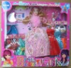 Plastic   Girl   Dolls   And   Clothes   Suit