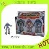 Plastic RC robot toy