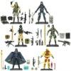 Plastic action figure soldier toy