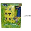 Plastic animal kid windmill toy ZZC107063