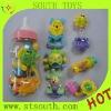 Plastic baby rattle toys
