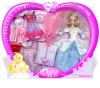 Plastic doll gift set