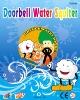 Plastic doorbell water squiter