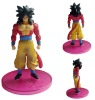 Plastic dragon ball figurine