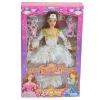 Plastic fashion bobby toy doll set