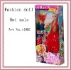 Plastic fashion real doll for kids for kids