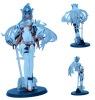 Plastic girl figurine