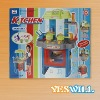 Plastic house play toy, kitchen sets play