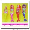Plastic new fashion mermaid doll for kids