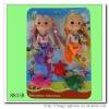Plastic new lovely mermaid dolls for baby