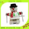 Plastic snowman wind up toy