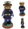 Plastic soldier bear toy