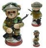 Plastic soldier toy animal