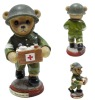 Plastic soldier toy figurine