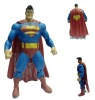 Plastic superman figure
