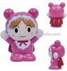 Plastic toy doll figure