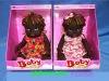 Plastic toys fashion doll