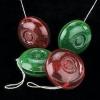 Plastic yo-yos