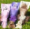 Plush Doll Bear Bouquet Doll Lover Gift 215138