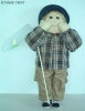Plush Stuffed Fashion  Doll