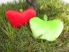 Plush apple toy cushion