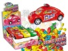 Policy car with pull back function toy candy