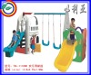 Pony swing and slide combination