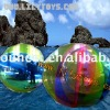 Pop inflatable sticky water ball