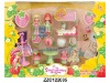 Popular plastic girl doll toy set ZZC122035
